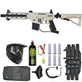 US Army Project Salvo Paintball Marker Gun 3Skull Sniper Set - Tan