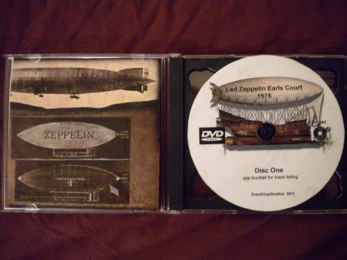 - Led Zeppelin At Earls Court '75 2 DVD Set