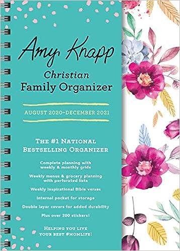 Best Christian Books 2021 2021 Amy Knapp's Christian Family Organizer: August 2020 December