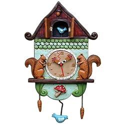 Allen Designs Cuckoo Bird Pendulum Clock