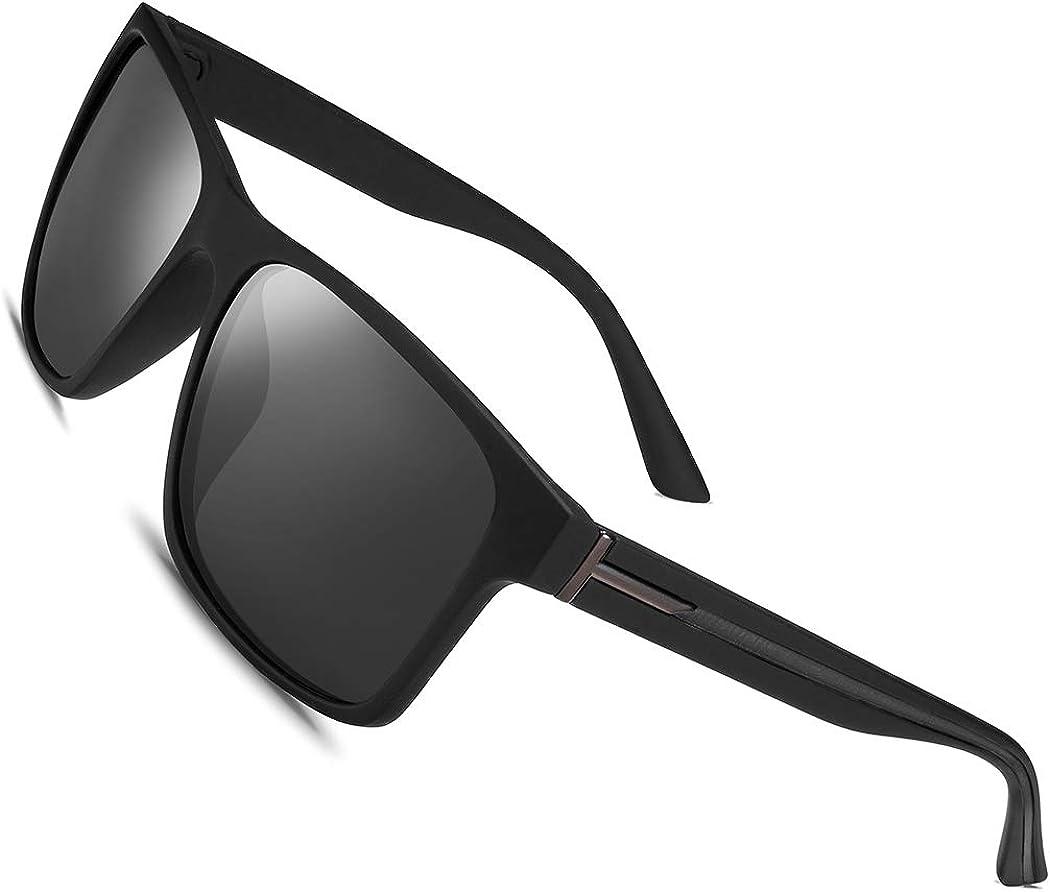 Polarized Sunglasses Men Women Lens Driving Fishing Retro Vintage Glasses New
