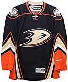Anaheim Ducks 2015-16 Home Black Reebok Premier Replica Jersey (Medium)