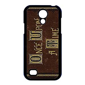 CeeMart Once Upon a Time Pattern Plastic Hard Case TPU Phone case cover for Samsung Galaxy S4 Mini i9190 black