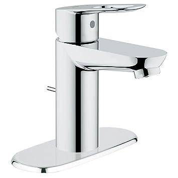 6 inch centerset bathroom faucet. Grohe 20333000 BauLoop Single handle Bathroom Faucet with 6 quot  Escutcheon
