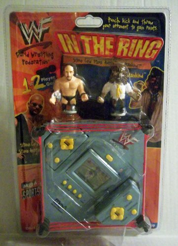 WWF In The Ring Electronic Handheld Game - Stone Cold vs. Mankind (1999) by MGA Entertainment