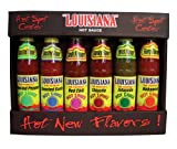 Cajun Injector Louisiana Brand Hot Sauce Kit