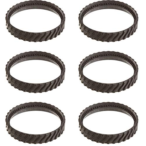 Zodiac Baracuda MX8 Swimming Pool Cleaner Replacement Tire Track Wheel (6 Pack) ()