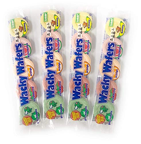 Wacky Wafers Candy - 4 Pack