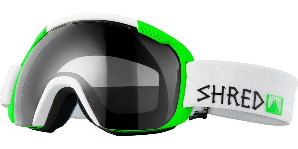 Shred Goggles, White/Green