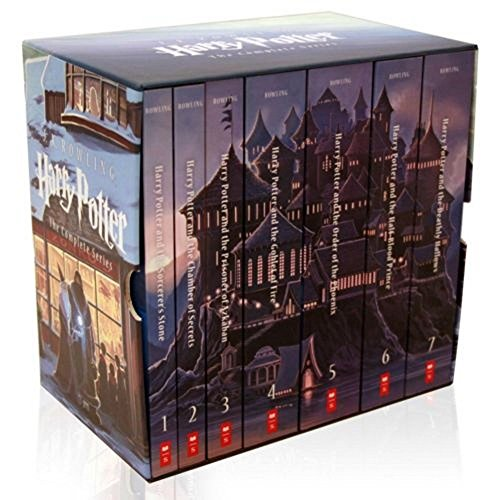 Harry Potter Complete Book Series Special Edition Boxed Set by J.K. Rowling NEW! by Salman Store (Image #1)