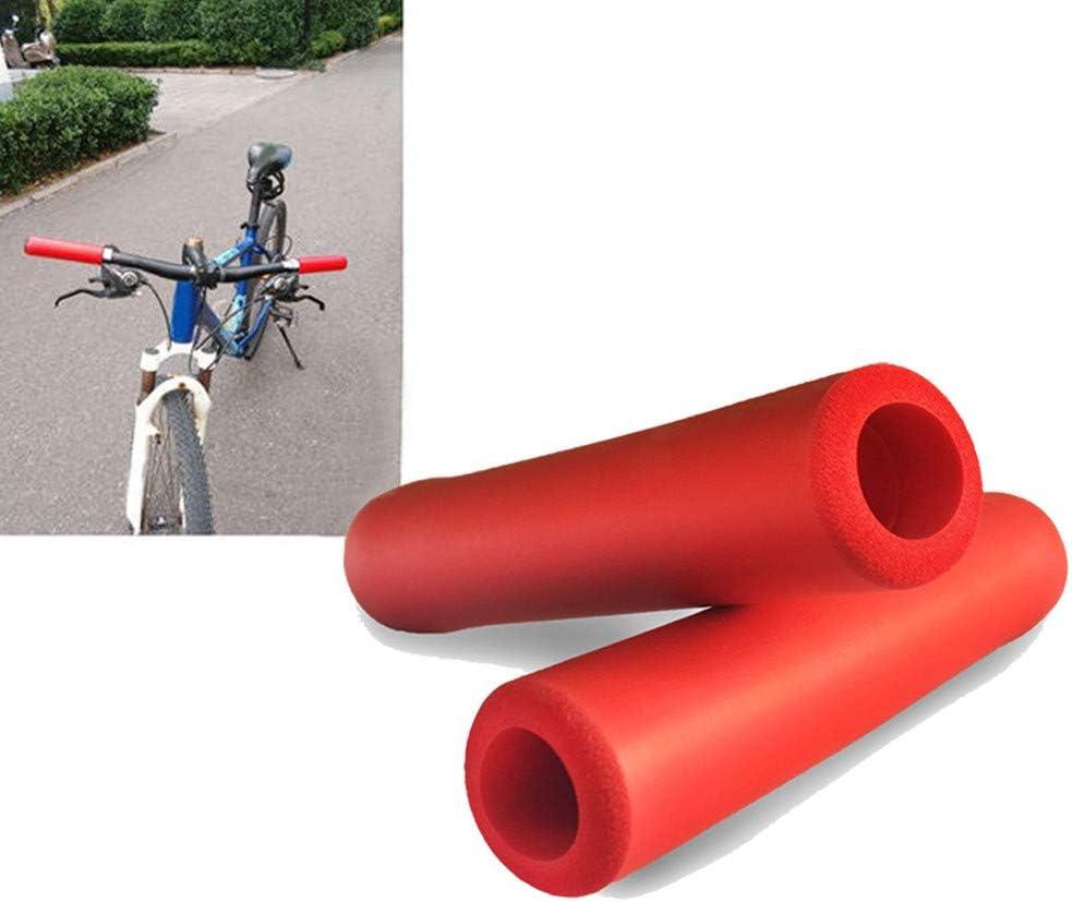 1 Pair BMX MTB Bike Mountain Cycling Handle Handlebar Soft Bar Grip Covers Jian
