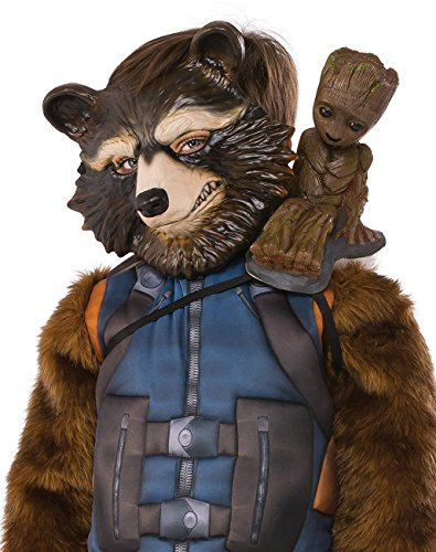 Groot Guardians Of The Galaxy Costume - Rubie's Costume Guardians Of The Galaxy Vol. 2 Groot Shoulder Costume Accessory, One Size