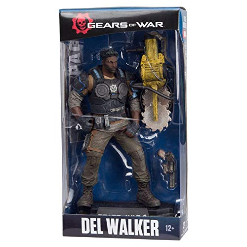 McFarlane Toys Gears of War 4 Del Walker 7 Collectible Action -