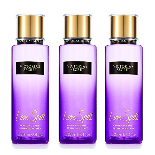 Victoria's secret Fantasies Fragrance Mist Love Spell Body Mist (3pcs set)