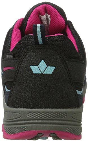 Lico Griffin Low, Zapatos de High Rise Senderismo Unisex Adulto Azul (Marine/tuerkis/pink)