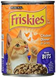 Purina 12-Pack Friskies Meaty Bits Chicken Gravy Wet Cat Food, 13.5-Ounce For Sale
