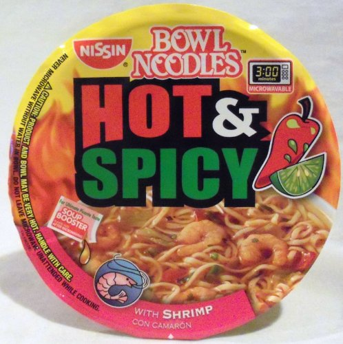 Nissin Bowl Noodles Hot & Spicy With ()