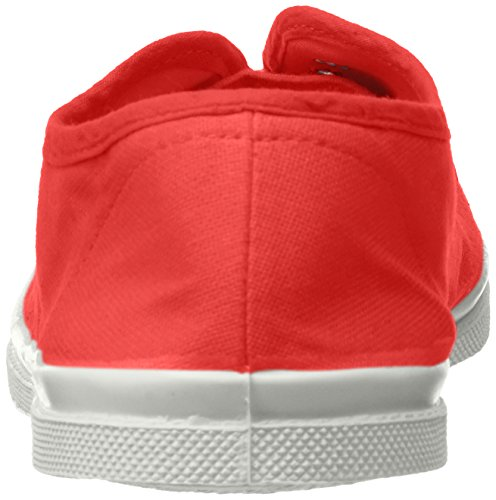 rouge Bensimon Tennis Rouge Baskets Elly Femme fRfPxqaw