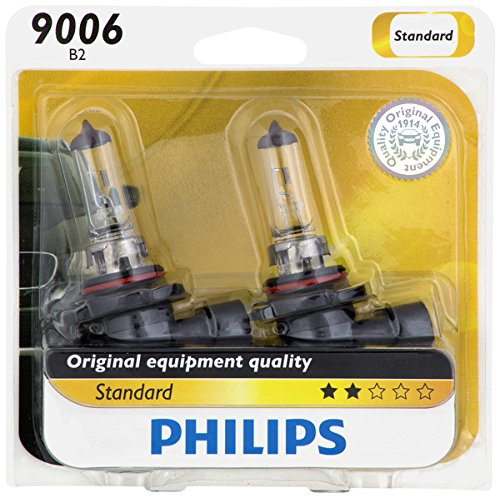 1998 Chevrolet K1500 Replacement (Philips 9006 Standard Halogen Replacement Headlight Bulb, 2 Pack)
