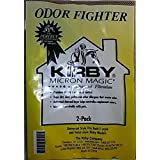 Kirby Avalir & Sentria Odor Fighter Charcoal Filtration Vacuum Bags 2-Pack OEM# 202816