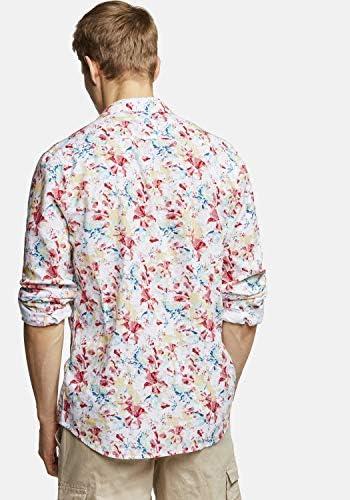 Colours & Sons - Camisa de manga larga para hombre, diseño ...