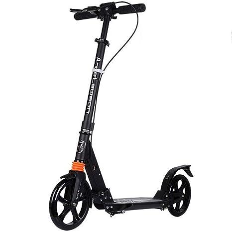 SCOOTERYW Scooter for niños y Adultos Patinete de Patada de ...
