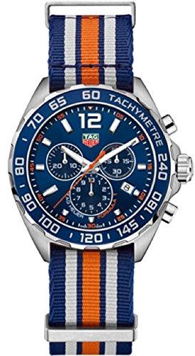 Tag Heuer Mens Formula - Tag Heuer Formula 1 Blue Chronograph Mens Watch CAZ1014.FC8196