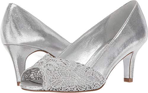 Adrianna Papell Women's Jude Pump, Silver Sterling Metallic, 8.5 Medium US