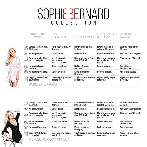 collezione Collection notte donna ease Feel da Negligé Camicia Rosso notte da da Bernard JADE Intimo Biancheria at notte Sophie da qIw6BZw