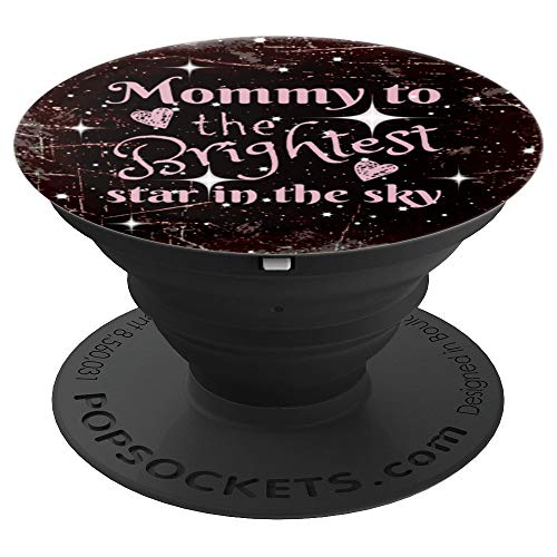 - Angel Baby Mom Mommy Of An Angel Baby Loss Awareness Gift - PopSockets Grip and Stand for Phones and Tablets