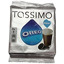 TASSIMO T-DISCs (8 Servigs) - OREO = 8 Count (Pack of 2) by TASSIMO