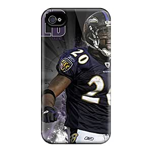 Durable Hard Phone Covers For Iphone 6plus (YaA7067wcpF) Custom Lifelike Baltimore Ravens Image