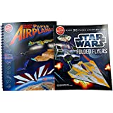 Klutz Star Wars Folded Flyers and Book of Paper Airplanes Set - Ultimate Fun for Kids
