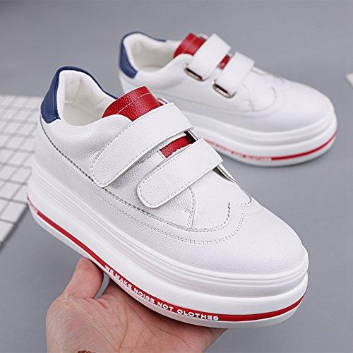 Cybling Vrouwen Loafers Dikke Zolen Schoenen Mode Casual Sneaker Schoenen Blauw