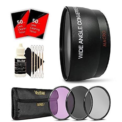 Kit de objetivo gran angular de 52 mm para Nikon D3200 D3300 y ...