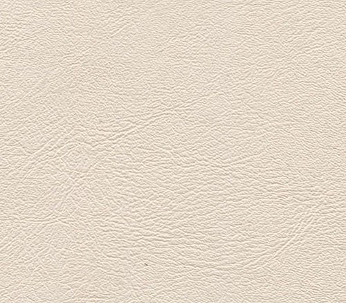 Ivory Upholstery (Swatch Sample Discount Fabric Marine Vinyl Outdoor Upholstery Ivory MA13)