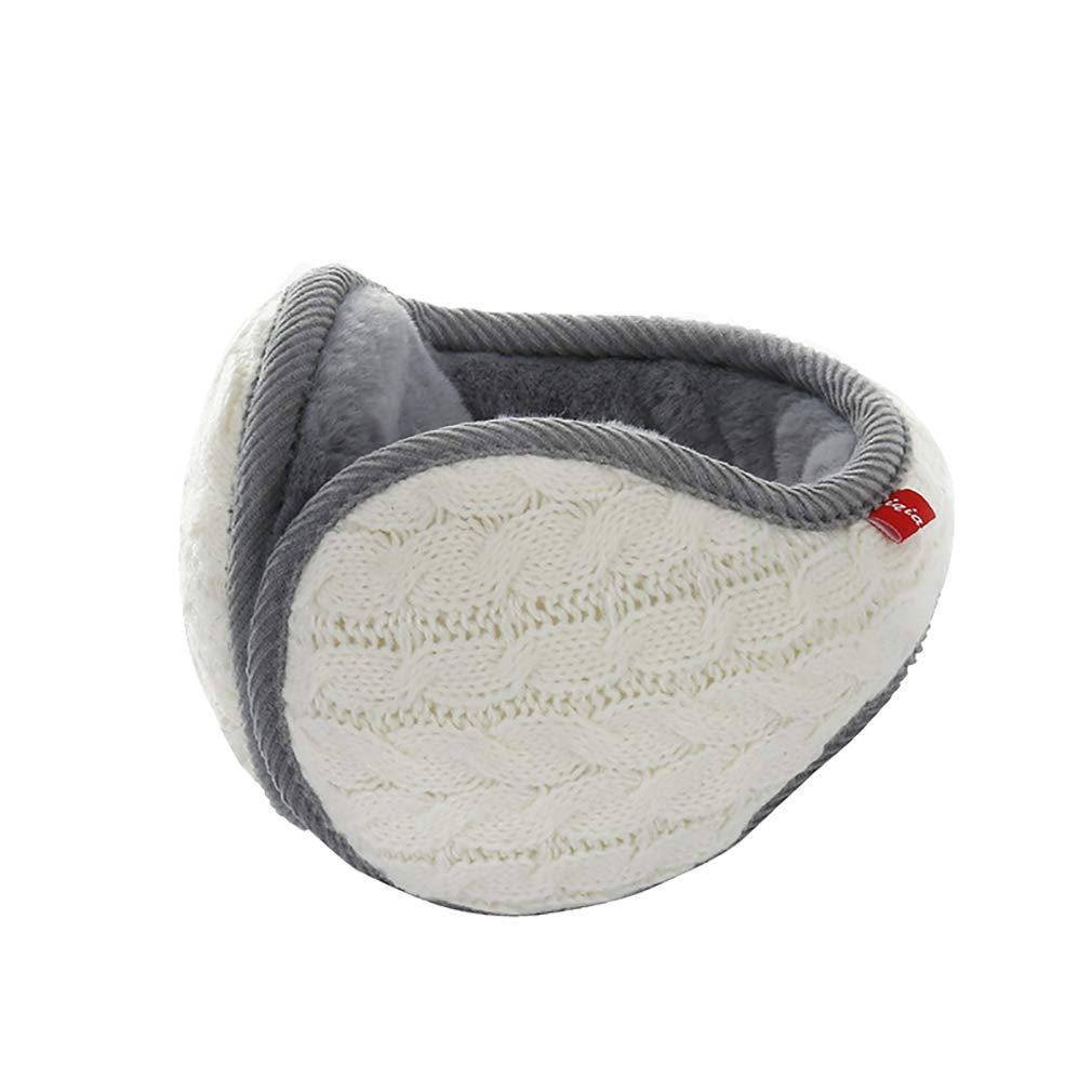 Hehong Uomo Unisex Pieghevole Scaldino per Le Orecchie Inverno Cuffie morbide Warm Protector Fur Ear Hehong Network technology Ltd