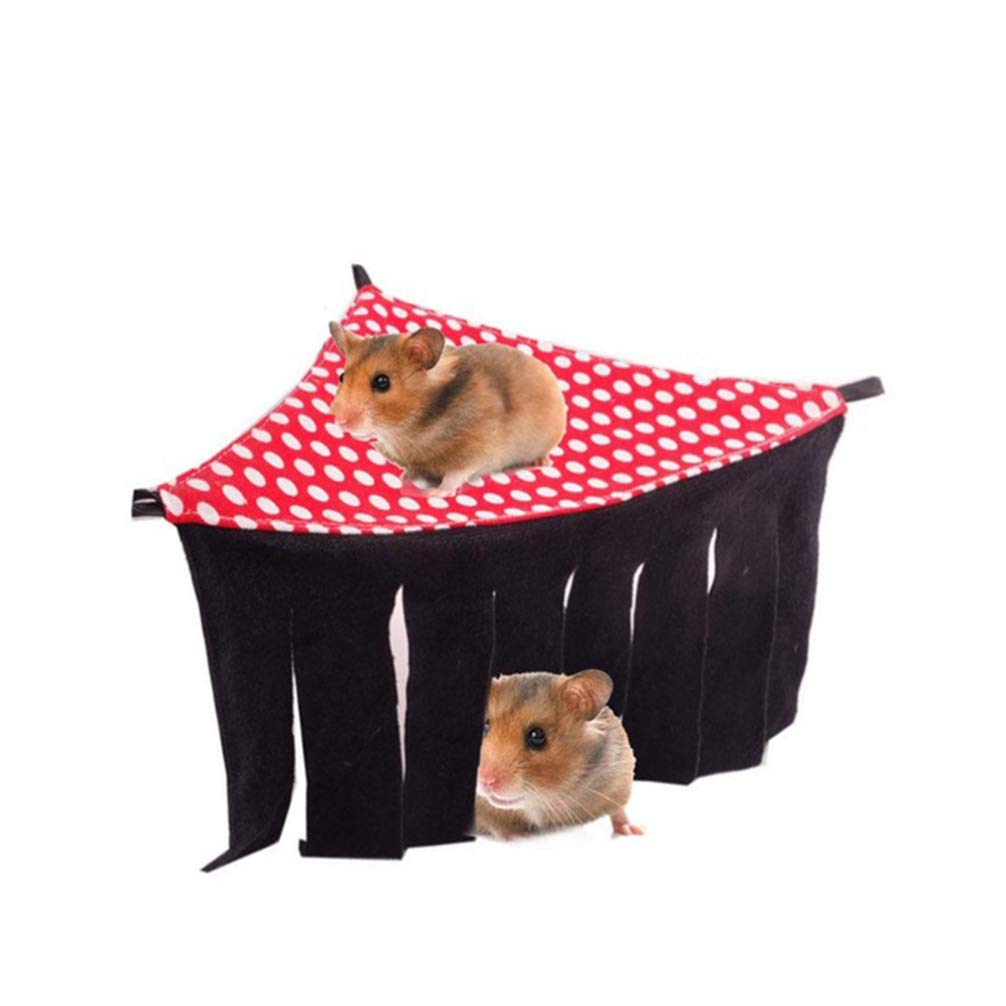 POPETPOP Hamster Hammock Small Pet Bed Hamster Tent for Hamster Guinea Pig Rabbit Small Pets Hidden House (Random Color) by POPETPOP