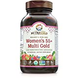 NUTRIGOLD – WOMEN'S 55+ MULTI GOLD 90Vcap (Organic, non-GMO, whole-food vitamins and minerals from real fruits, vegetables, and herbs. Now includes Astaxanthin!) 30 Servings For Sale