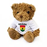 NEW - Ghana Flag Teddy Bear - Ghanaian Fan Gift Present