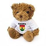 NEW - Ghana Flag Teddy Bear - Ghanaian Fan Gift Present