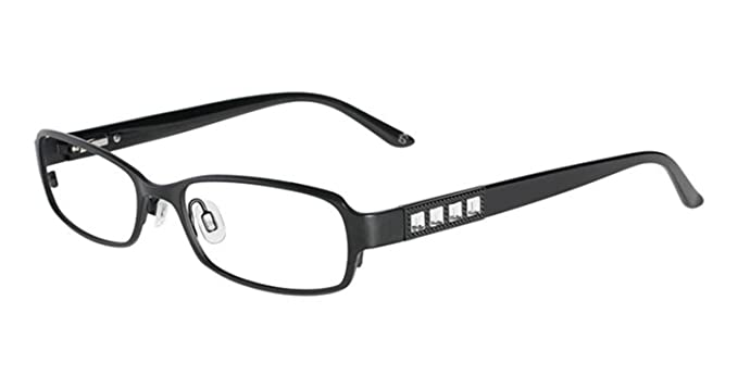 022063d4e77 Bebe Prescription Eyeglasses - 5039 001 - Jet (51 17 135) at Amazon ...