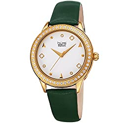 Crystal Filled Bezel Ladies Watch