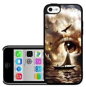 Evil Eye in the Sky Hard Snap on Phone Case (iPhone 5c)