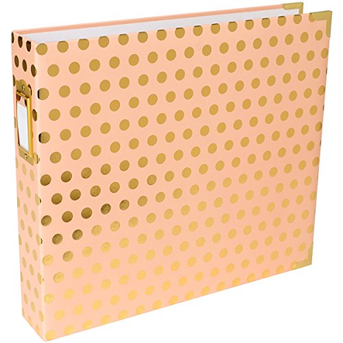 Project Life 12x12 Blush Dot Designer Album (12 X 12 Dots)