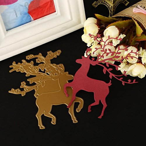 Merry Christmas Metal Cutting Dies Stencils Scrapbooking Embossing DIY Crafts by Topunder E