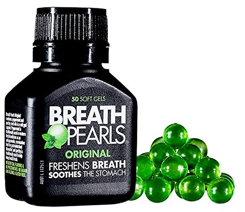(Breath Pearls Original Freshens Breath (50 softgels))