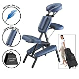Master Massage ULTRA LIGHT Professional Portable Massage Chair with FREE Wheeled Carry Case