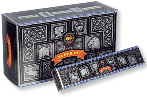 Satya Sai Baba Super HIT Bundle + NAG Champa, Sandal, Rose, Jasmine Patchouli, Lavender Incense (19 Packets -15 Grams PER Pack)