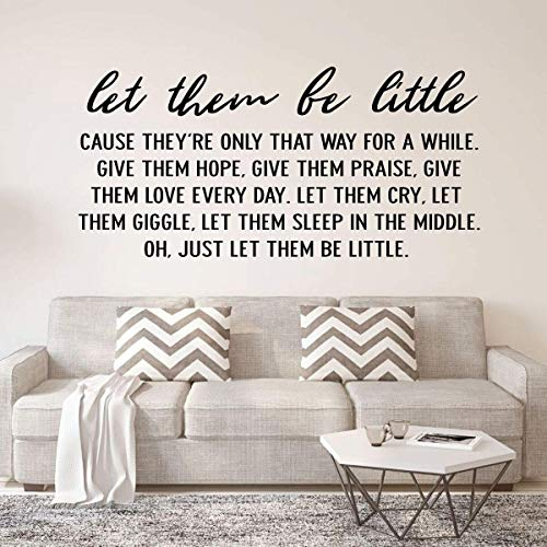 (Children's Wall Decal Quote -
